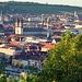 Blick in die Altstadt von Würzburg mit Dom in der Bildmitte<br />© Nadine