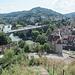 Wieder am Schartenfels und Blick hinüber nach Baden.
