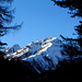 En descendant: Piz Chapisun 2931m et un autre sommet vachement connu