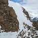 Faldumrothorn, kurz vor dem Gipfel. Rechts das Lötschental