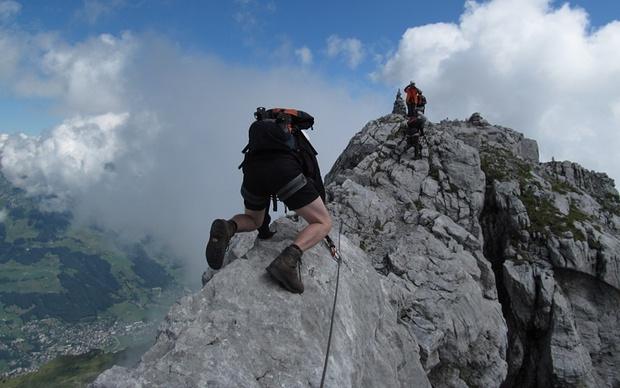 Fürenwand Klettersteig Unfall : Klettersteig graustock m u tourenberichte und fotos hikr