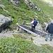 Das Brüggli bei Punkt 2132 m