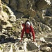 Aufstieg in der Porta Es-Cha