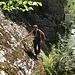 Lustiges Klettersteigen