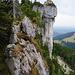 Dann am Kamm wird's alpiner, Zwölferturm