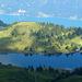 Grosssee und Walensee wobei der erstgenannte 1200 Meter höher liegt
