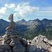 Blick über das Val da Fain hinüber zum Piz Albris (l.). Mit dem hab' ich noch was vor.
