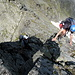Finaler NW-Grat zum Gipfelkreuz