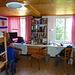 Davids Doppelzimmer am SBT -- mit sehr niedrigen Decken...
