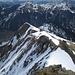 O-Grat der Krinnenspitze - hier führt der Gamsängersteig hinab zur Krinnenalpe