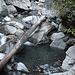 Etwas frische Badewanne am Alpbach
