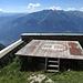 Die Hütte wird per Hubschrauber versorgt.