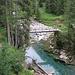 Il ponte sul torrente Calancasca.
