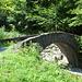 Die Sagenbrücke die den Meerenbach überquert