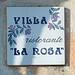 """Villa """"La Rosa"""". Ristorante, Bar, Albergo und gesellschaftliches Zentrum der Insel"""