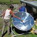 es kocht wiklich im Solarkocher
