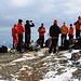 Foto von 1. Besteigungsversuch und vom HIKR-Treff 23./24.10.2010:<br /><br />Die HIKR's machen Pause auf der Bannalper Schonegg (2250m).