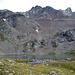 Rückblick zum Piz Albris vom Lej Languard. Ob unter dem Wulst rechts oberhalb der Bildmitte noch ein Restgletscher ruht?