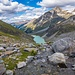 Gletschersee unterhalb der Coaz-Hütte