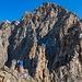 Sellagrat mit dem Gipfel des Piz Roseg in Bildmitte am Horizont. Es liegt aber noch einiges an Arbeit zwischen diesem und uns...