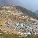 Namche Bazar. oben am schönen Aussichtspunkt zum Everest und Co. befindet sich auch ein Museum und ein kleines Cafè.