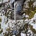 Abstieg über steinerne Treppen