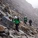 Steffen, Sven und Jörg beim Gipfelanstieg zum Piz Buin.