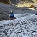 Das Gehen im Schneefeld war wesentlich angenehmer als im sehr rutschigen Geröllfeld.