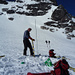 Dichtemessung bei fünf Meter Schnee – zum Glück war das richtige Gerät im schweren Gepäck