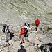 <b>Passo del Lucendro 2564mt.</b> Qui si incontrano il sentiero che sale dal Lago e Alpe di Lucendro, quello dei Laghi scuri e poco oltre quello che giunge dal Passo di Cavanna (RotondoHutte), e dalla Capanna Piansecco (via Alta Bedretto)