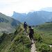 Der hübsche Gratweg zum Leiterepass