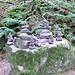Steinmänner gab es einzeln und als Familie