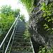 Am Schluss muss noch diese Treppe überwunden werden