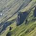 steile Grashalden fallen Richtung Rheintal ab