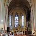 Der Chor und der Hochaltar der Klosterkirche