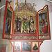 Chiesa di Zell. L'altare di destra nel 2012.