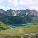 Dal P.so Busin appare il Lago Vannino