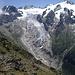 Glacier du Trient et pentes du versant sud de la Pointe Ronde