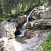 schöner Wasserfall kurz vor der Melköde