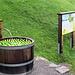 Gratis-Elmer-Citro-Brunnen knapp über dem Dorf ..
