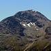 Foto unspannend für Viele, nicht für mich. Das ist der Piz Chalchagn auf dessen Gipfel ich gestern stand. Aus der Ferne kann man so viele Nuancen mal anders sehen.
