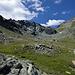 Alpe Felleria, dove si snoda il sentiero per la bocchetta di Caspoggio e quindi Marinelli.
