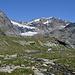 Vista ghiacciaio Fellaria dalla val Felleria