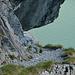 curioso passaggio ricavato nella roccia, dopo questo punto si riprende a salire