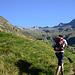 Salendo verso l'Alpe Camera