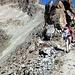 Von der Fuorcla Albana (2870m) sind es immerhin noch mehr als 500 Hoehenmeter. Also, weiter geht's. Jetzt auf dem schoenen Grat immer mit toller Aussicht (T2-T3).