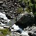 Aufstieg zur Hütte, Brücke