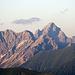 Großer Wilder und Hochvogel (2593m) als Teleaufnahme.