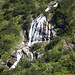 Wasserfall beim Abstieg durchs Gemsteltal nach Mittelberg.