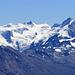 In voller Pracht: das Bernina Massiv